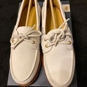 Sperry Gold Cup Ivory Topsider Mens 10